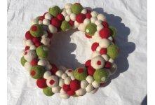 30cm Felt Wreath