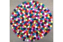 40cm Felt ball mat