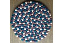 40cm Round felt ball mat