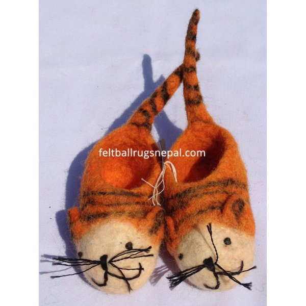 Felt Baby Shoes Wholesale From Nepal,Handmade In Nepal By