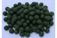 1000 Peaces 2cm dark green color felt balls
