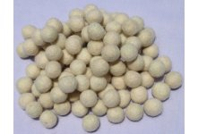 1000 Pieces 1.5cm White color felt balls