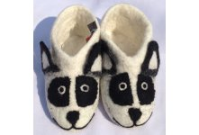 New Felt panda design shoes