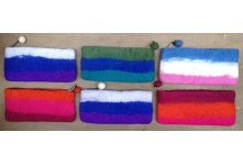 6 Pieces Felt pencil case purse