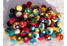 1000 Pieces mixed mirror felt balls