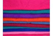 12 Pieces felt mixed sheets