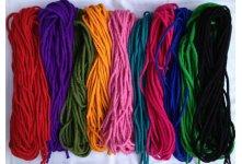200 Meter Handmade mixed felt rope