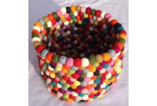 Felt ball basket