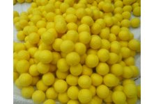 1000 Peaces 2cm yellow color felt balls