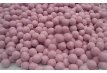 1000 Pieces 2cm sea pink Color Felt Ball