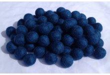 1000 Pieces dark turquoise felt balls