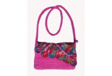 Felt magenta children cutting bag