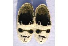 Felt new cat design shoe