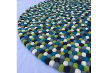 Fabulous Felt Ball Rug
