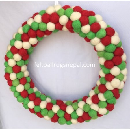 https://feltballrugsnepal.com/844-thickbox_default/christmas-felt-ball-wreath.jpg
