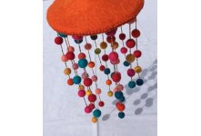 Colorful Felt Wind Chime