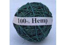3kg 3 Ply Teal Hemp Yarn