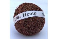 Light Coffee Hemp Yarn