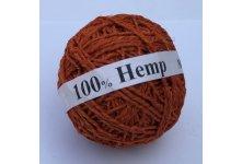 3kg Orange Hemp Yarn