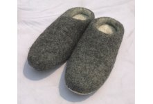 Natural Felt Slipper