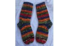 5pcs Petrol woolen sock