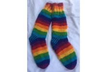 5pcs Rainbow woolen socks