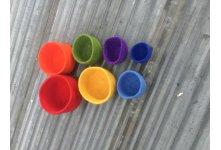 Felt Ranbow 7set bowls
